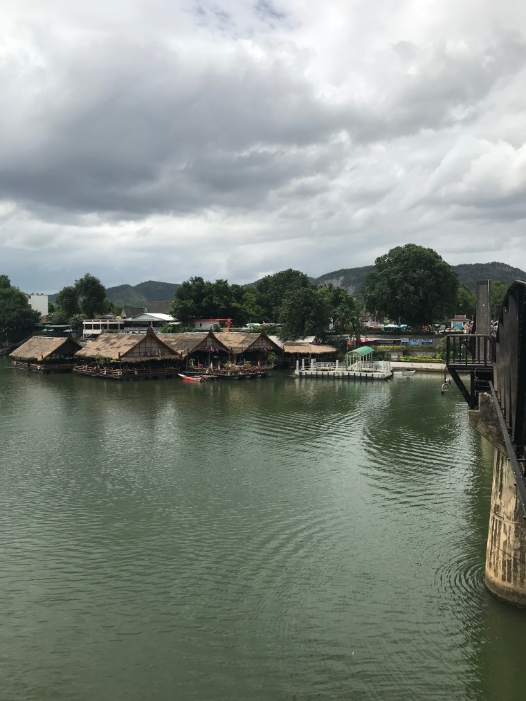 Floating Restaurant. One can see the entrance to the Restaurant