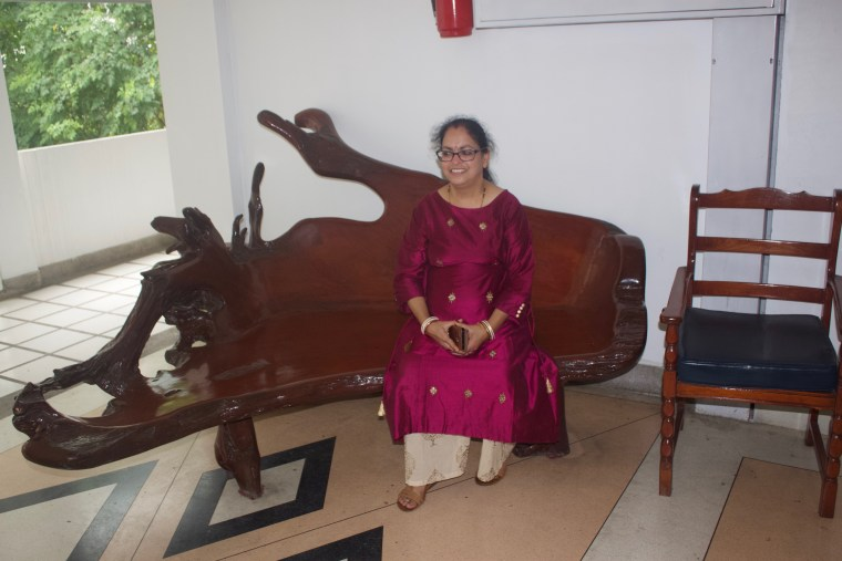 Wooden furniture in P&P Grand Residence