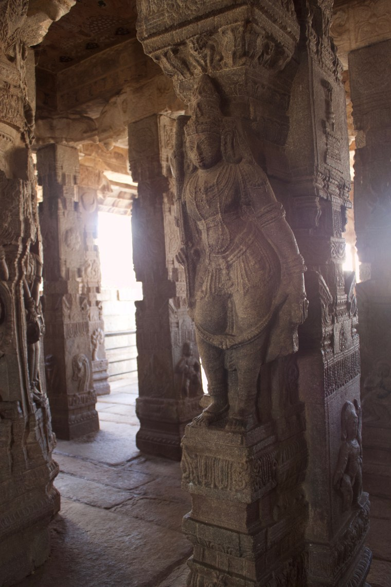 Sculpture inside the Lepakshi Temple