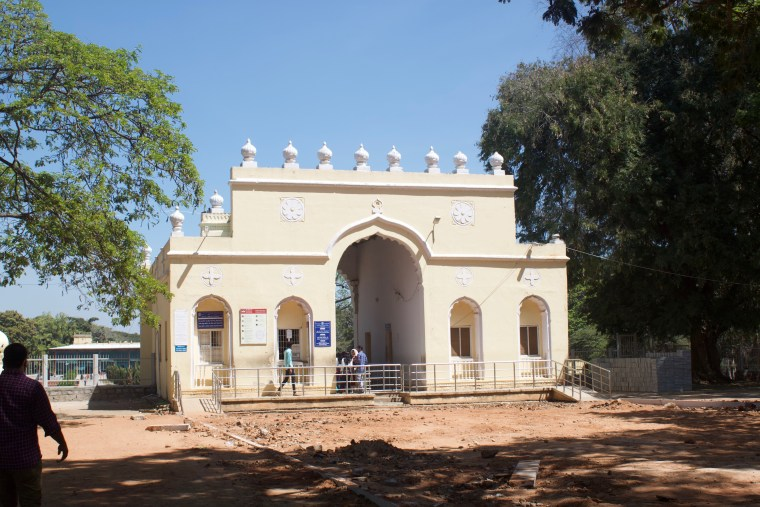 Gate with the Ticket Counter to the Tipu Sultan Summer Palace