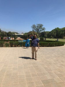In the gardens of Tipu Sultan Summer Palace