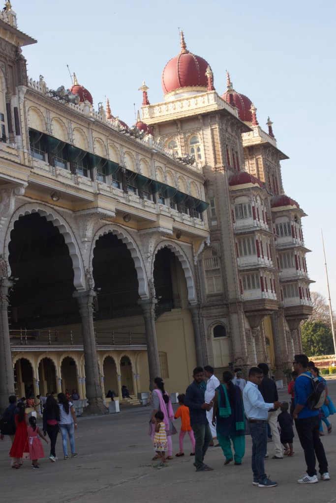 Another view of the Mysore Maharaja Palace