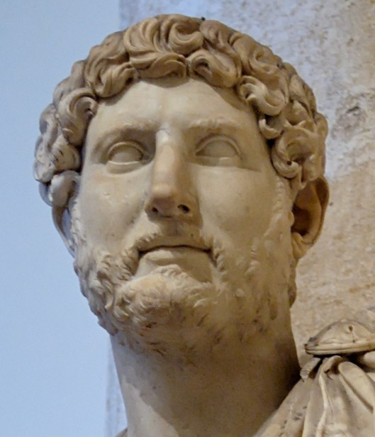 Bust of Hadrian from the Musei Capitolini