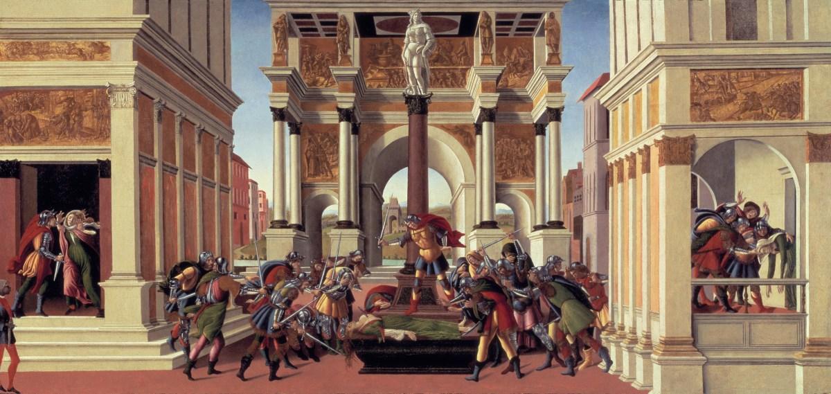 Botticelli - Suicide_lucretia
