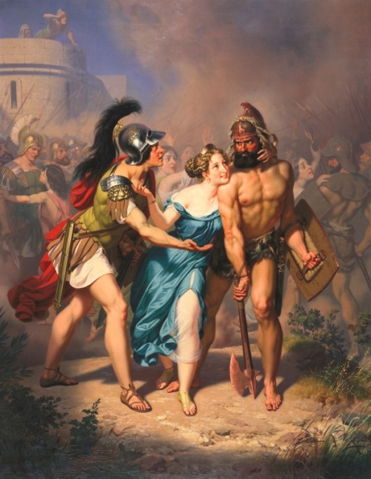 Charles_Christian_Nahl_1871,_The_Rape_Of_The_Sabines_-_The_Invasion