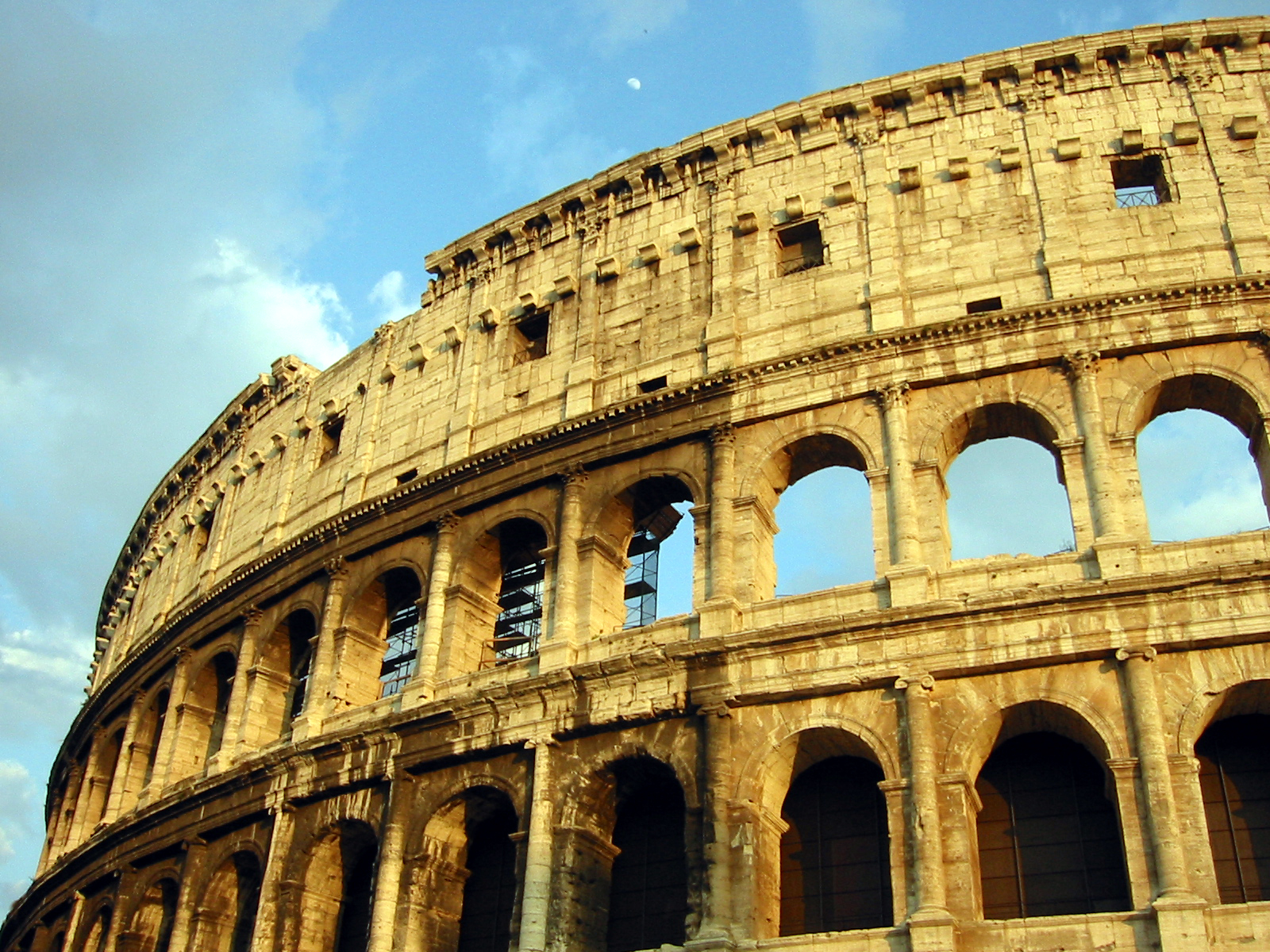 Colosseum Flavian amphitheatre amphitheater