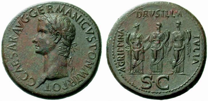 Caligula, Livilla, Drusilla, and Agrippina
