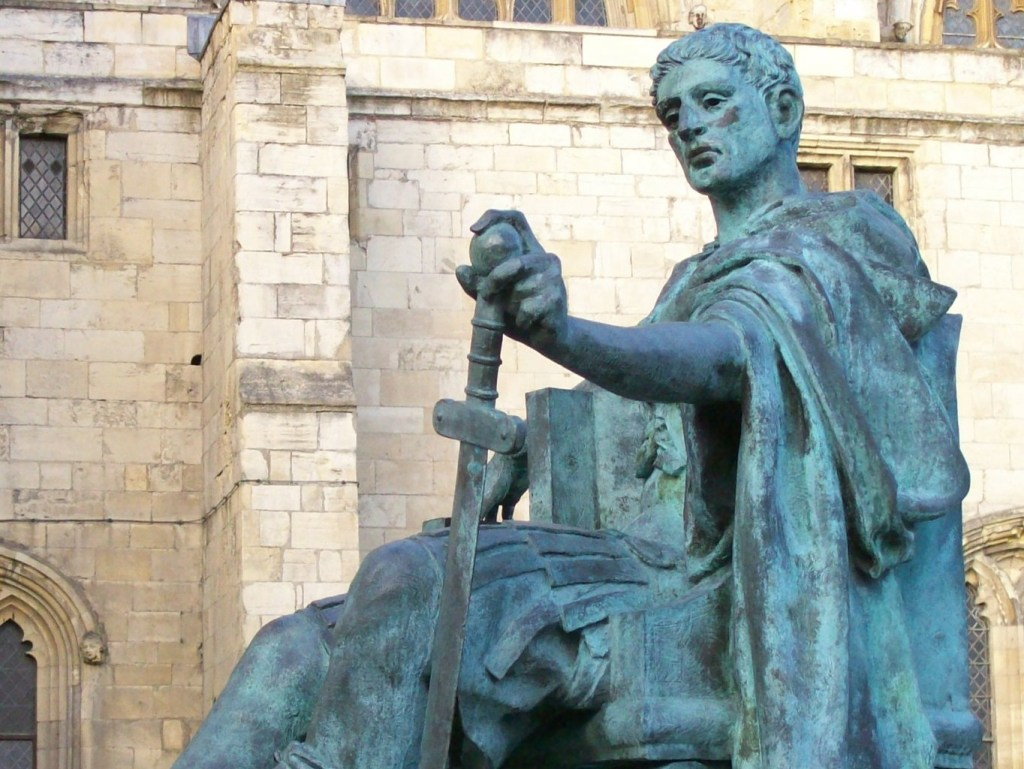 Constantine the Great - Statue outside York. A man whose rule is defined by disruption.