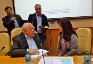 Mr. Mikhail Gorbachev andPamela Teitelbaum