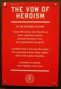 Vow of Heroism