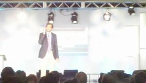 Gawande speaking at Care Innovation Summit