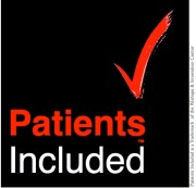 Patients Included badge with TM