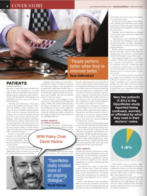Healthcare IT News story page 3