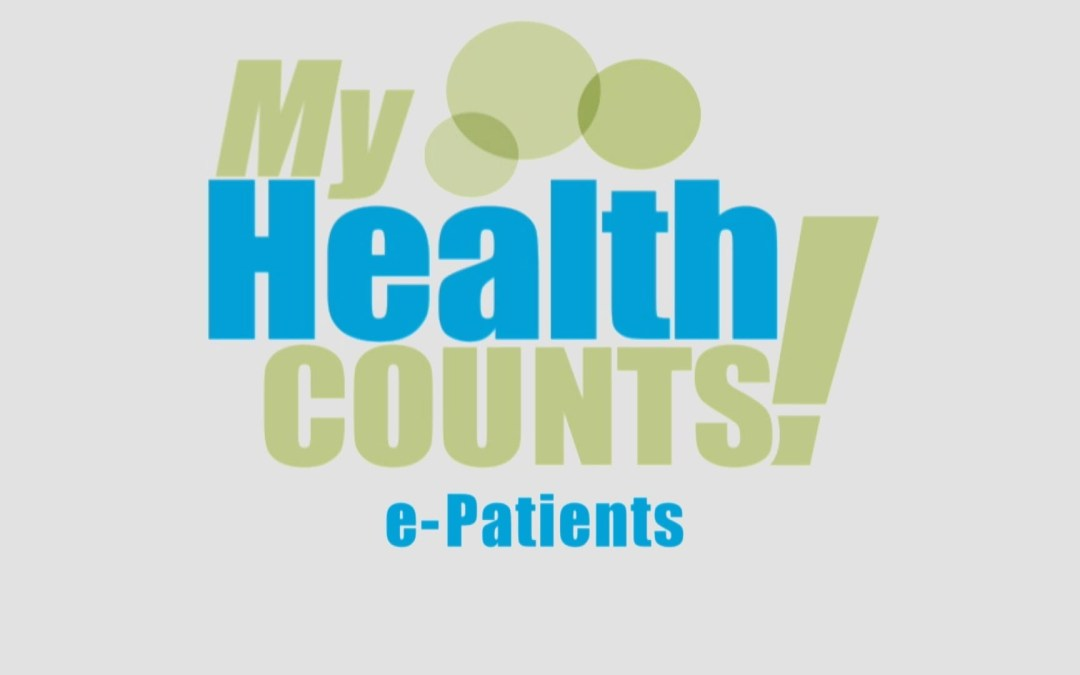 """""""My Health Counts: e-Patients"""" to premier on WNED!"""