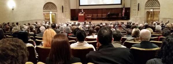 Jessie's gathering 10-5-14 at New York Academy of Medicine