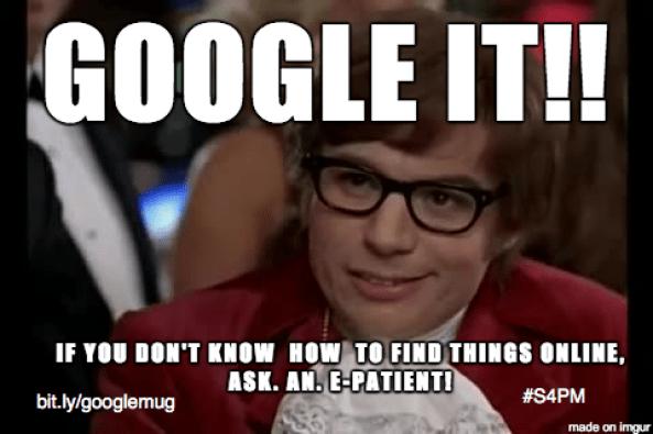 Google It meme