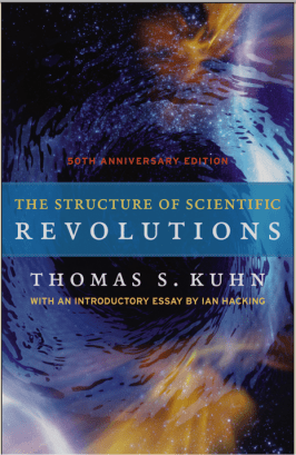 Cover of Structure of Scientific Revolutions 50th edition
