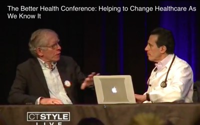 "SPM on TV in Hartford after last week's ""Better Health"" conference"