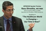 "#SPM2018 speaker @RasuShrestha: ""Let's move from paternalism to where the patient is a true participant"""