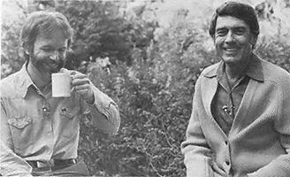 Tom Ferguson being interviewed by Dan Rather, 1979