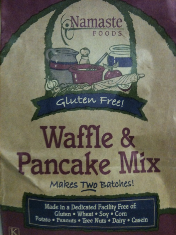 @lovancise @mvancise i saw this in the gluten free section of whole foods and bougght it for you guys! Breakfast at our place soon!
