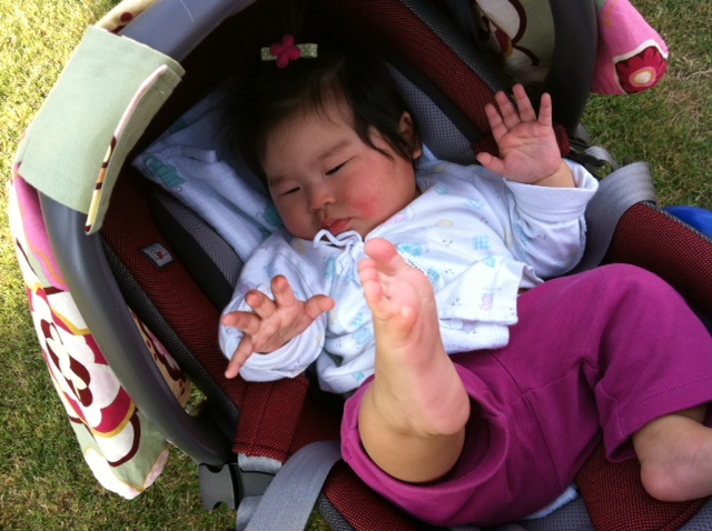 Kung Fu baby A :)