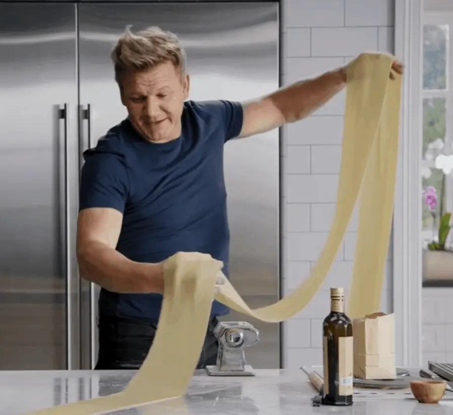Gordon Ramsay pasta