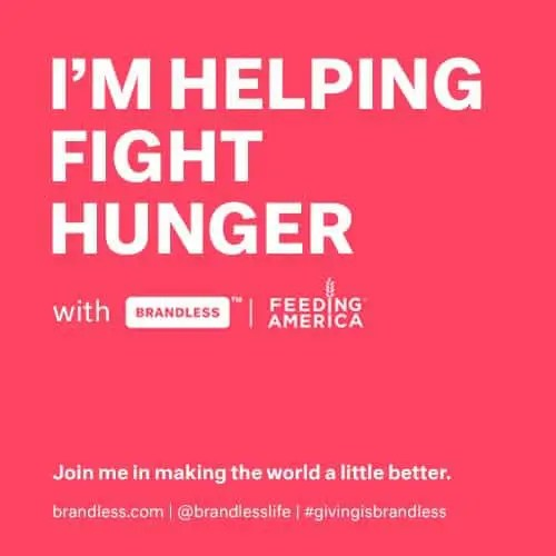 Brandless and Feeding America