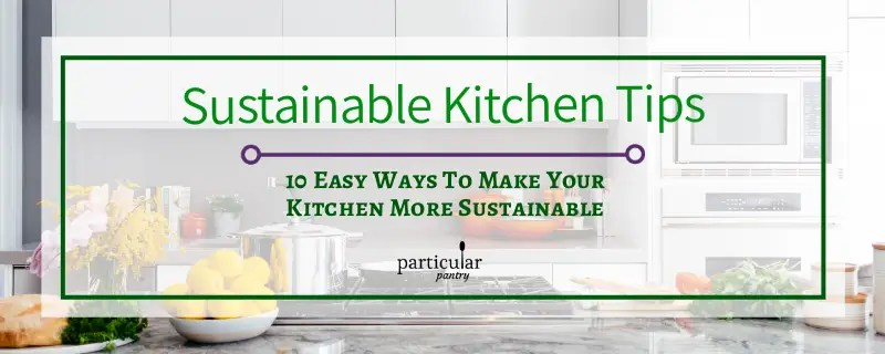 sustainable kitchen