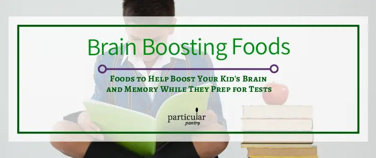 Foods To Help Boost Your Kid's Brain and Memory While They Prep For Tests