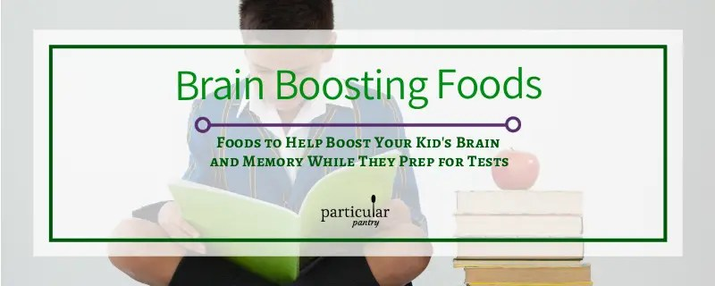 brain boosting foods