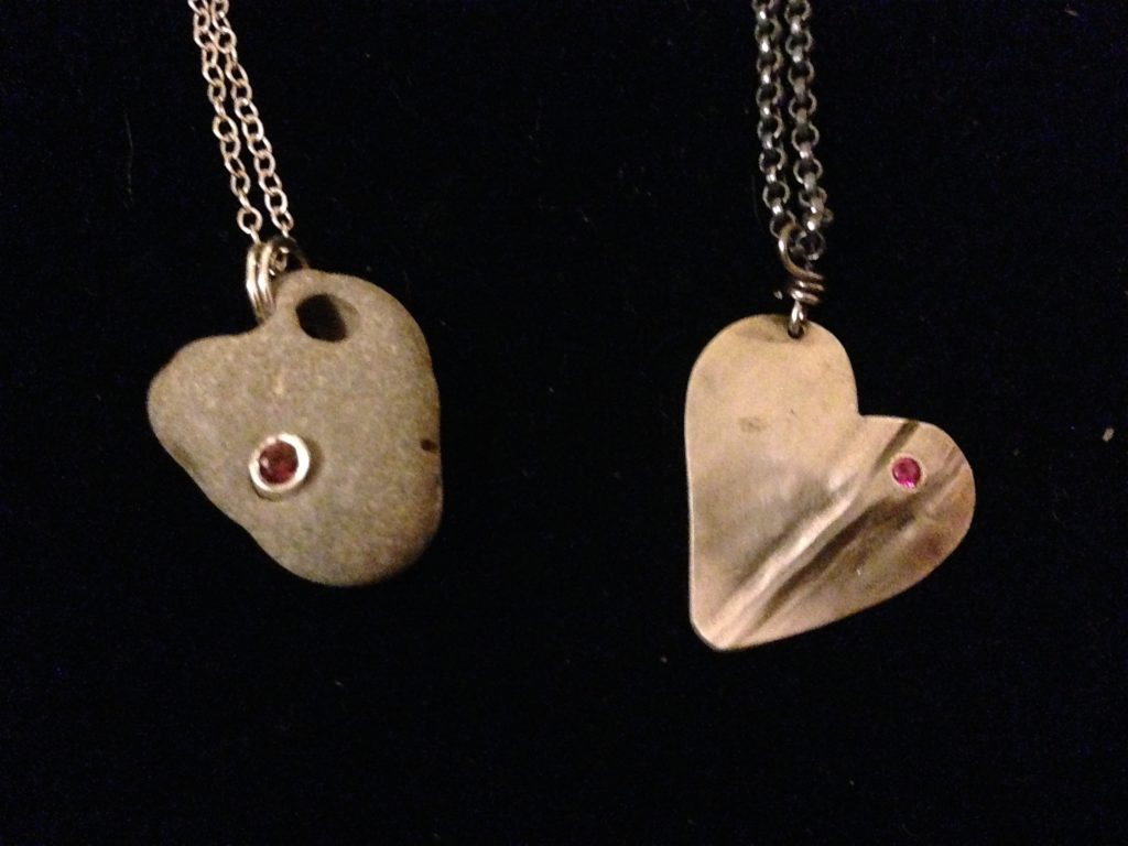 Valentine's Day Jewelry by pARTiculars' artists