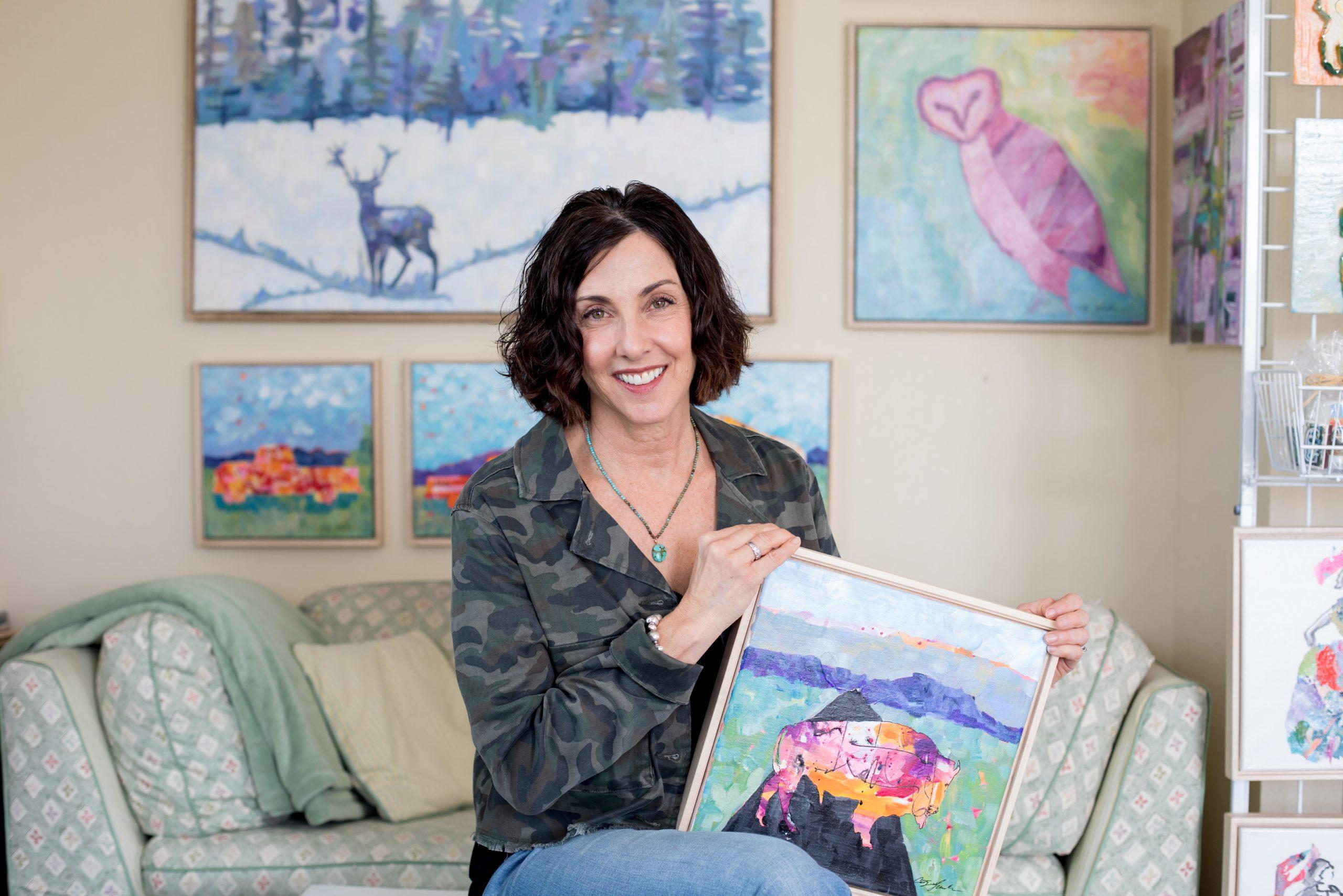 JUNE FEATURED ARTIST: Cathy Faughnan