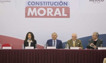 López Obrador presenta convocatoria para crear Constitución Moral