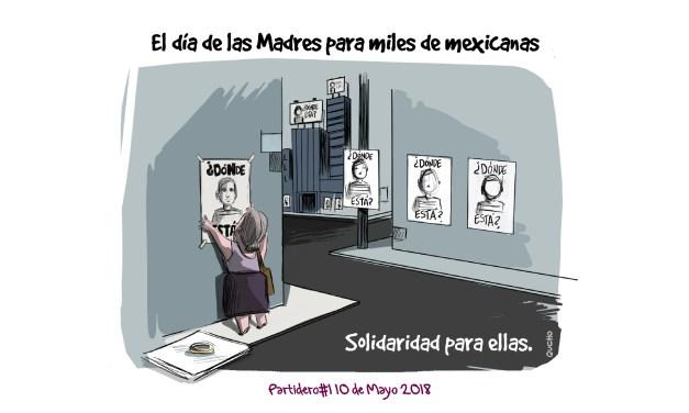 Día de las Madres para miles de mexicanas