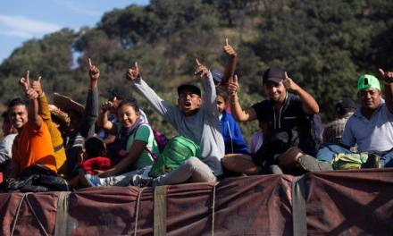 Prevén arribo de nueva caravana migrante a la metrópoli