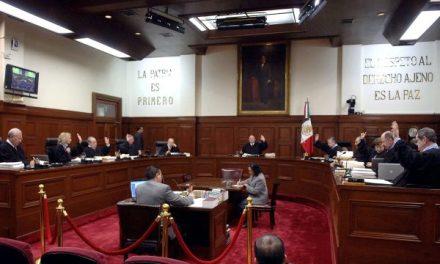 Pleno de la SCJN acuerda disminuir 25% salario de los 11 ministros