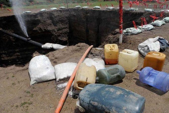 Policía Federal y Fuerzas Armadas aseguran 92 mil 600 litros de gasolina robada