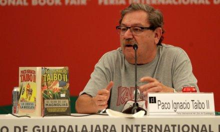 """Retira Taibo II patrocinio a premio de la FIL: """"se acabó el coctel y la publicidad"""""""