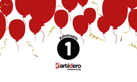 Partidero: Primer aniversario