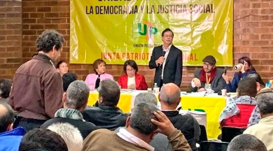 Colombia Humana y Unión Patriótica formalizan su alianza