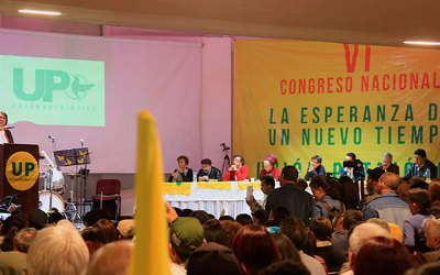 Convocado VII Congreso Nacional de la UP