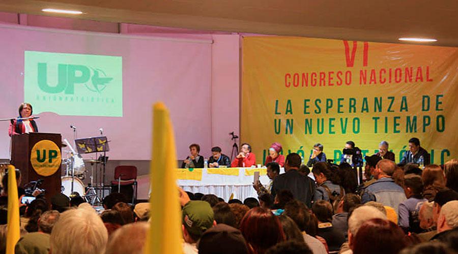 Convocado VII Congreso Nacional de la UP