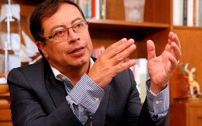 Gustavo Petro precandidato a la Presidencia por la Unión Patriótica