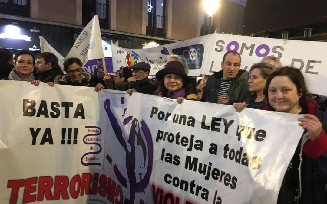 Manifestación en Madrid 25 de Noviembre