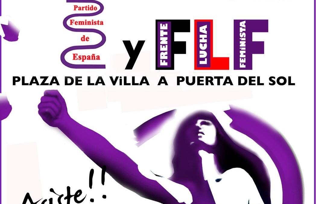 Convocatoria en Madrid para el día contra la violencia hacia las mujeres
