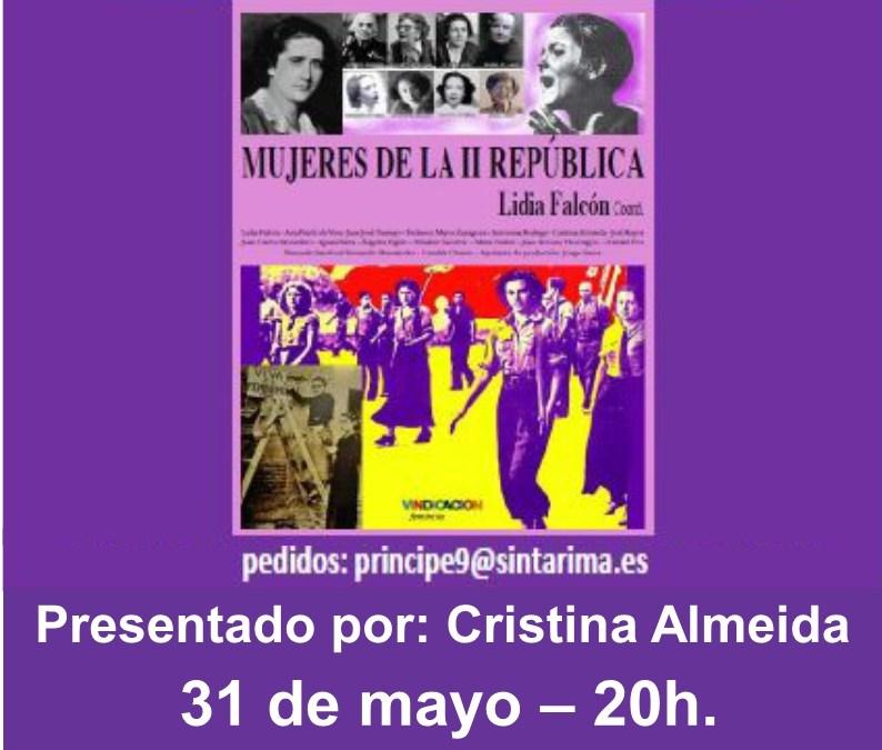 31 Mayo – Presentación del libro «Mujeres de la II República» en Las Palmas de Gran Canaria