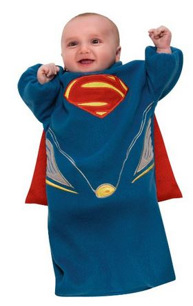 Baby Man of Steel Costume