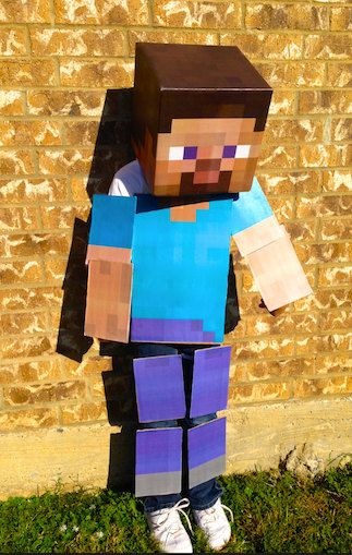 DIY Minecraft Costumes 02