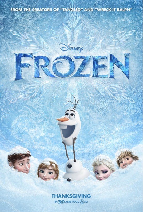 Frozen poster